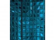 Paraván - Azure Mosaic [Room Dividers]